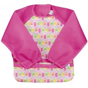 mouwslab - roze ijslolly's