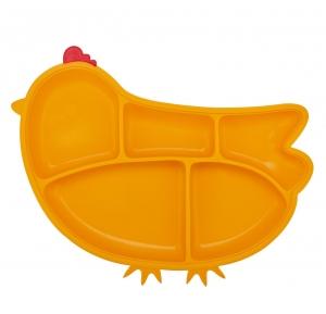 din din smart™ saugteilplatte aus silikon - mango chicken